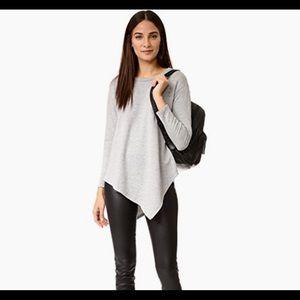 SOFT JOIE TAMMY B sweatshirt top heather gray